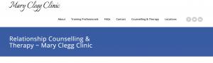 Screenshot of the new website launch